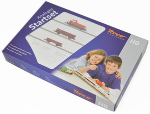 ROCO Analog Starter Set with Freight train