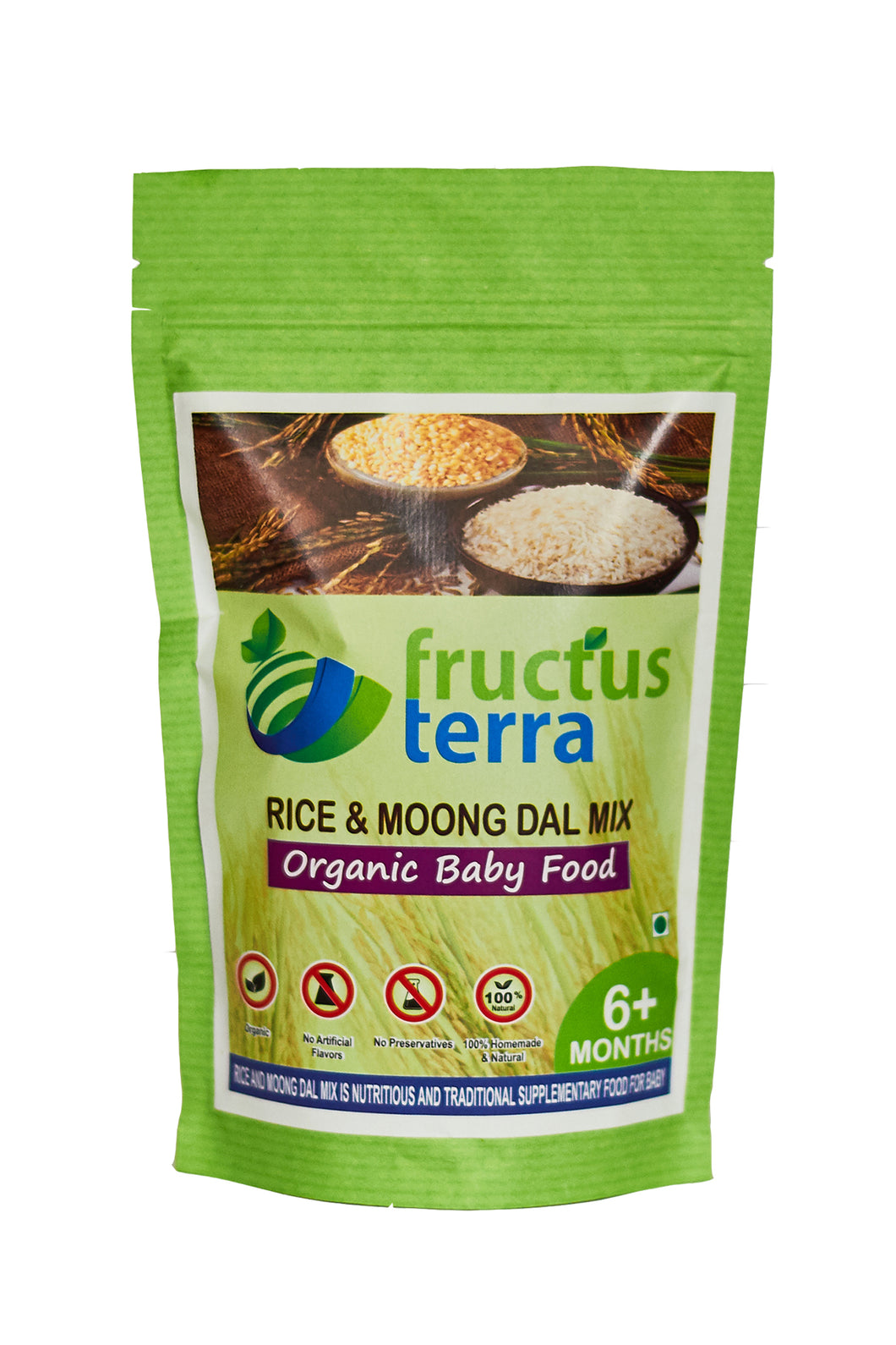 Organic Rice and Moong Dal Mix