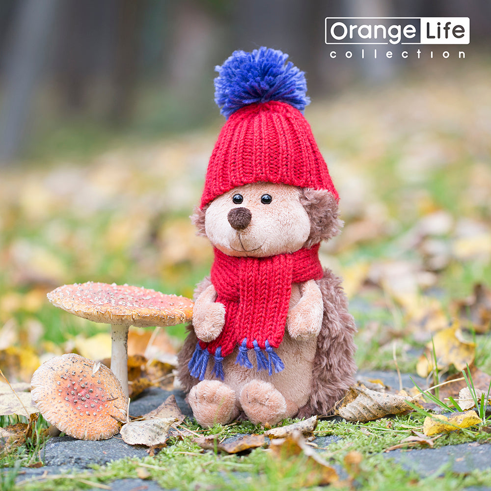 Orange Toys, Prickle The Hedgehog In Red Hat