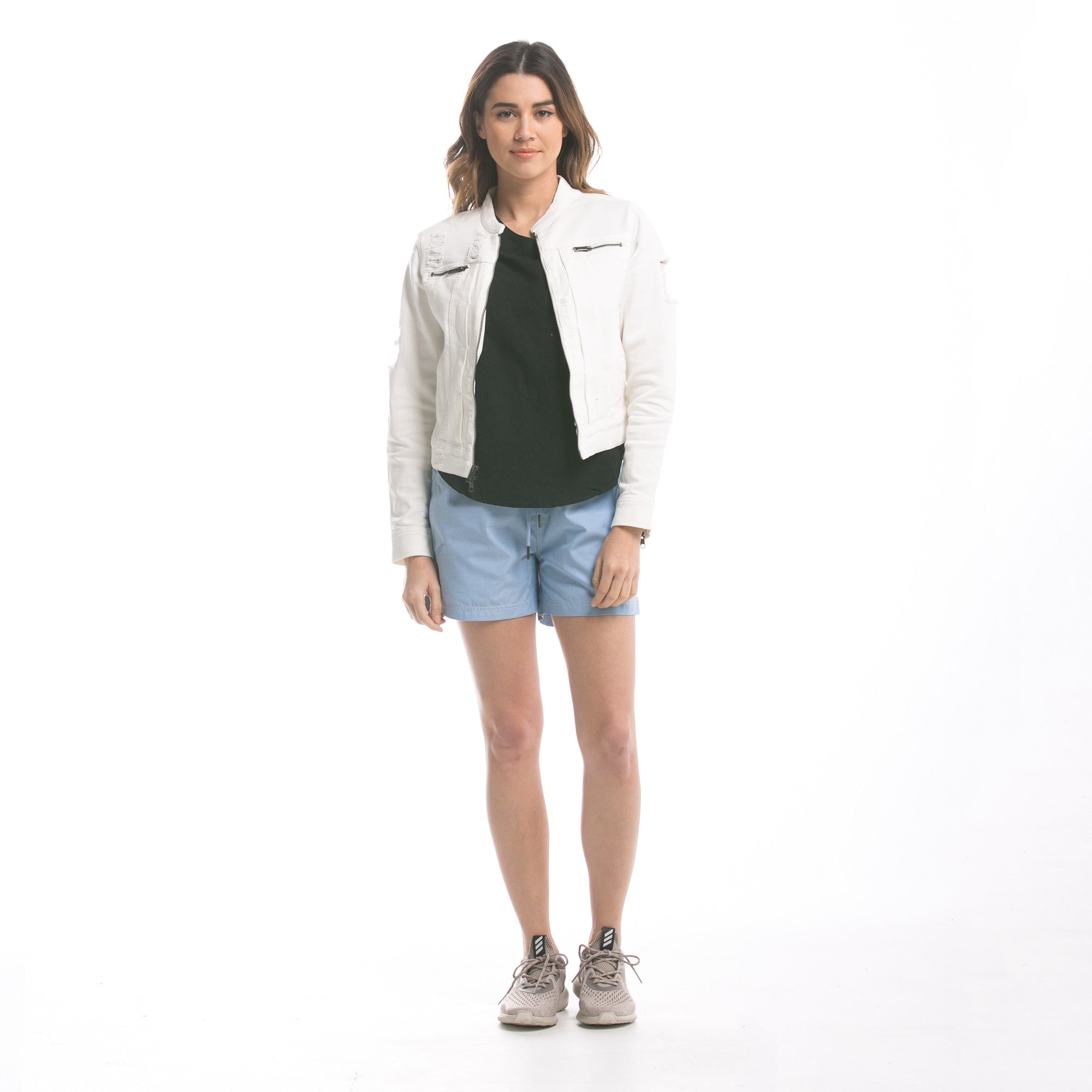 Lily - Jacket - White