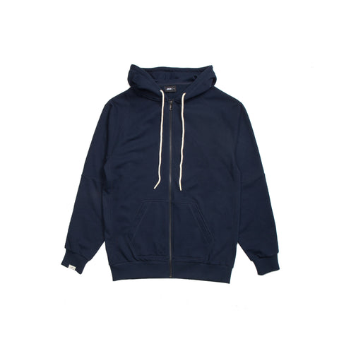 Index Terry Zip - Navy