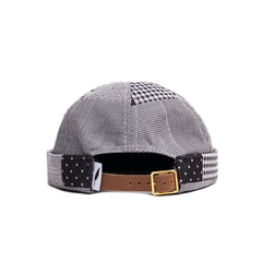 Pierre Roll Cap - Navy