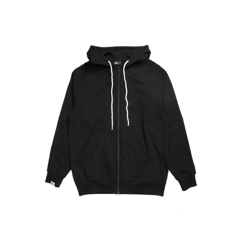 Index Terry Zip - Black