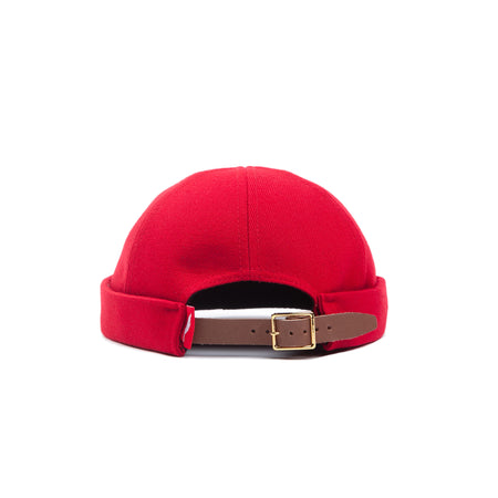Addisu Roll Cap - Red