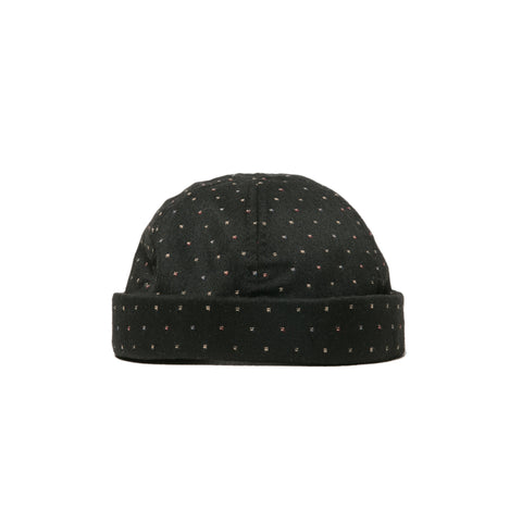 Bruk Roll Cap - Black