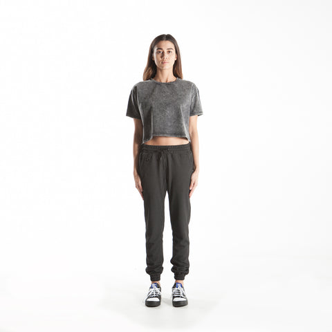 Emma - Jogger Pants - Black