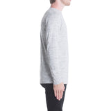Index L/S Tee - Ash Heather