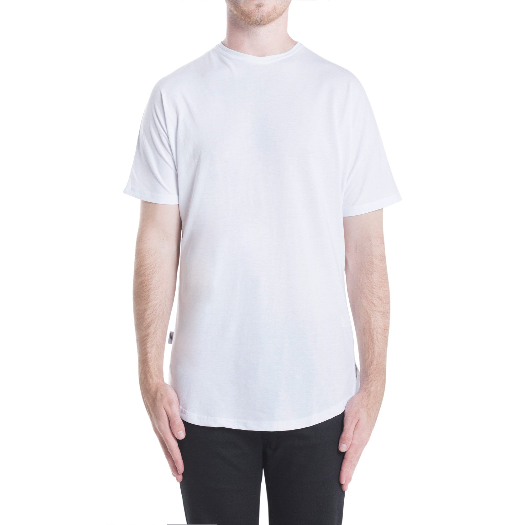 Index S/S Scallop Tee - White