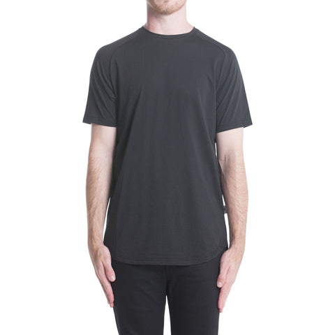Index S/S Raglan Tee - Black