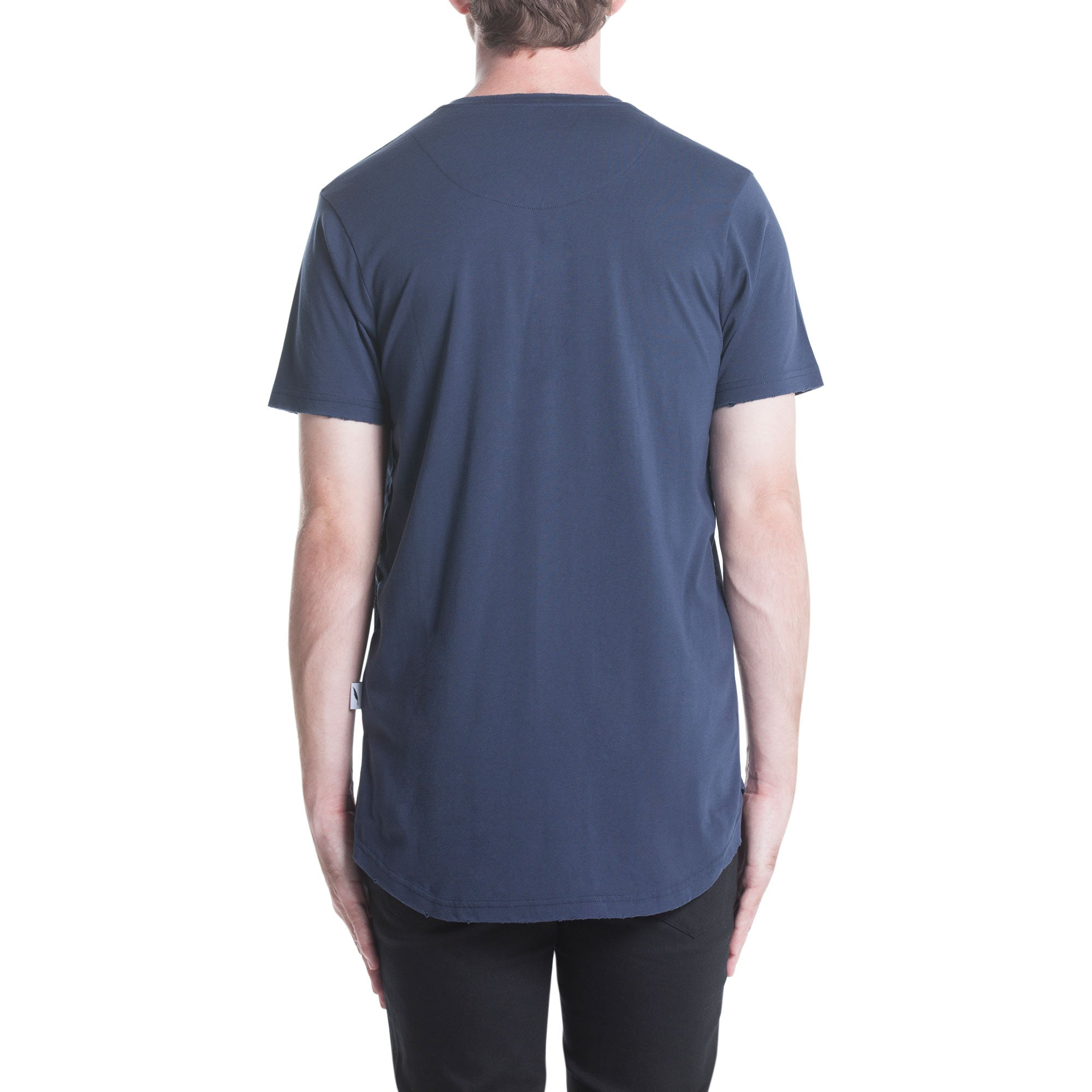 Index S/S Pocket Tee - Navy