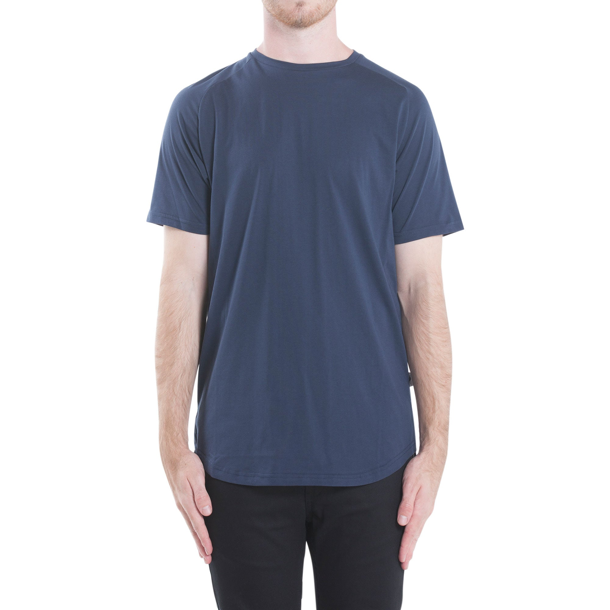 Index S/S Raglan Tee - Navy