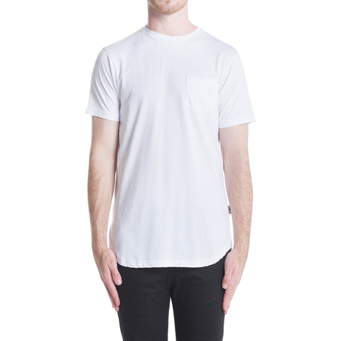 Index S/S Pocket Tee - White