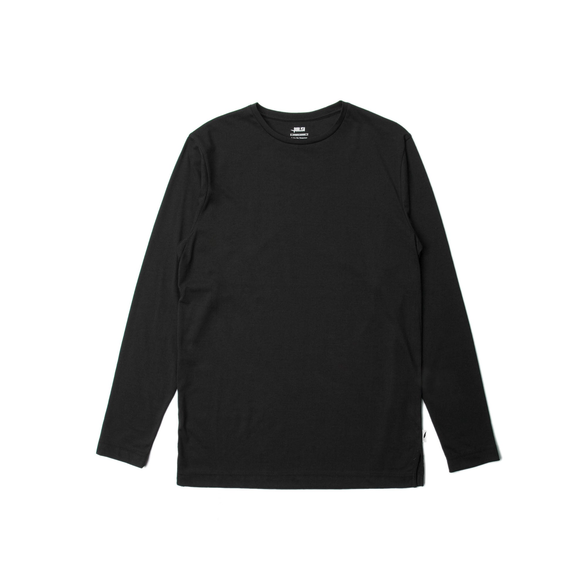 Index L/S Tee - Black