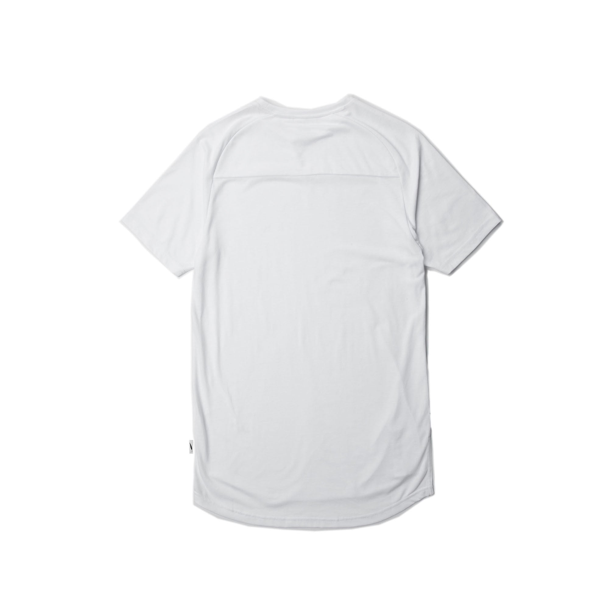 Index S/S Raglan Tee - White