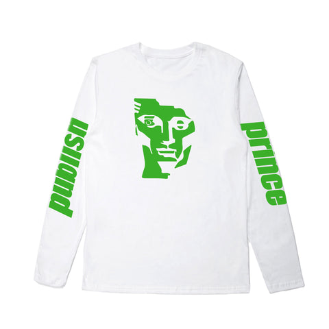 Ace Face LS - White