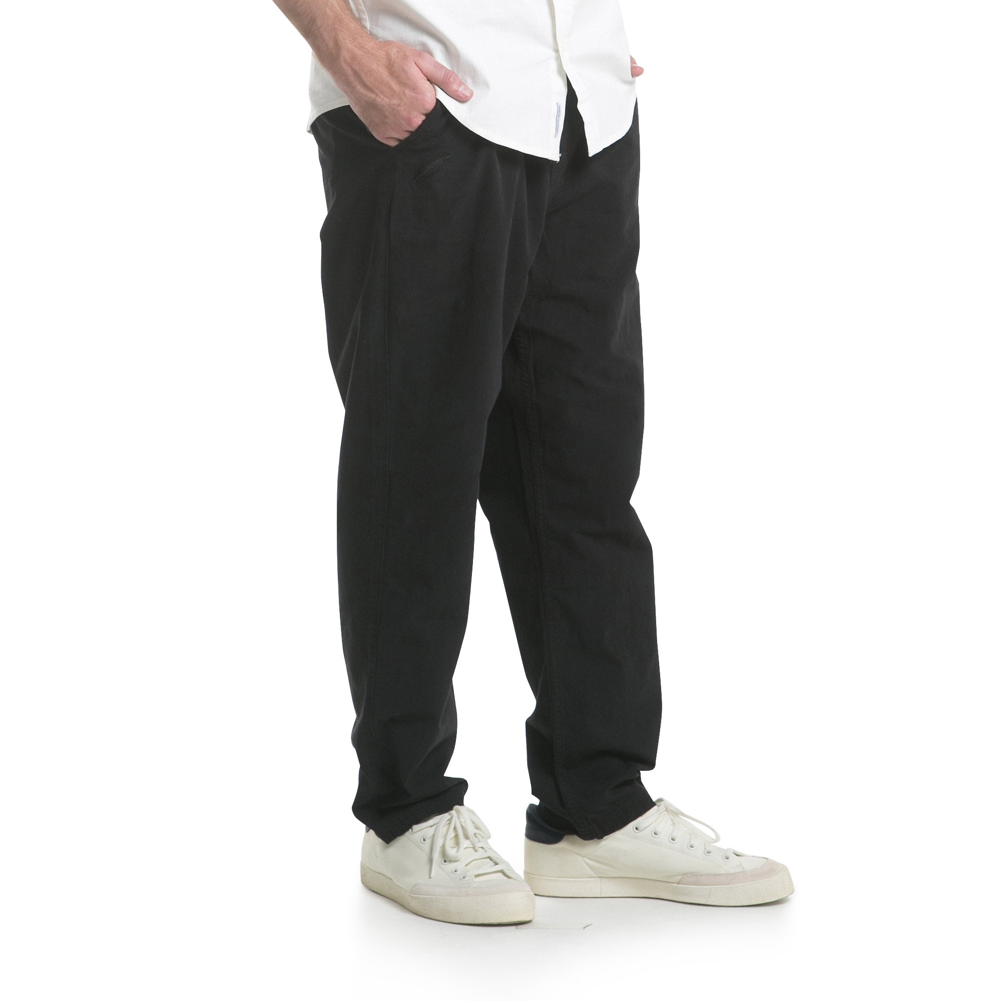 Baggy Chino Pants - Black