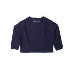 Bev - Cropped Top - Indigo