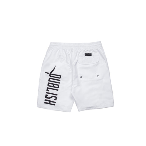 Publish Boardshort - White