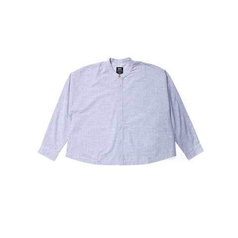Celia - Button Up -  Navy