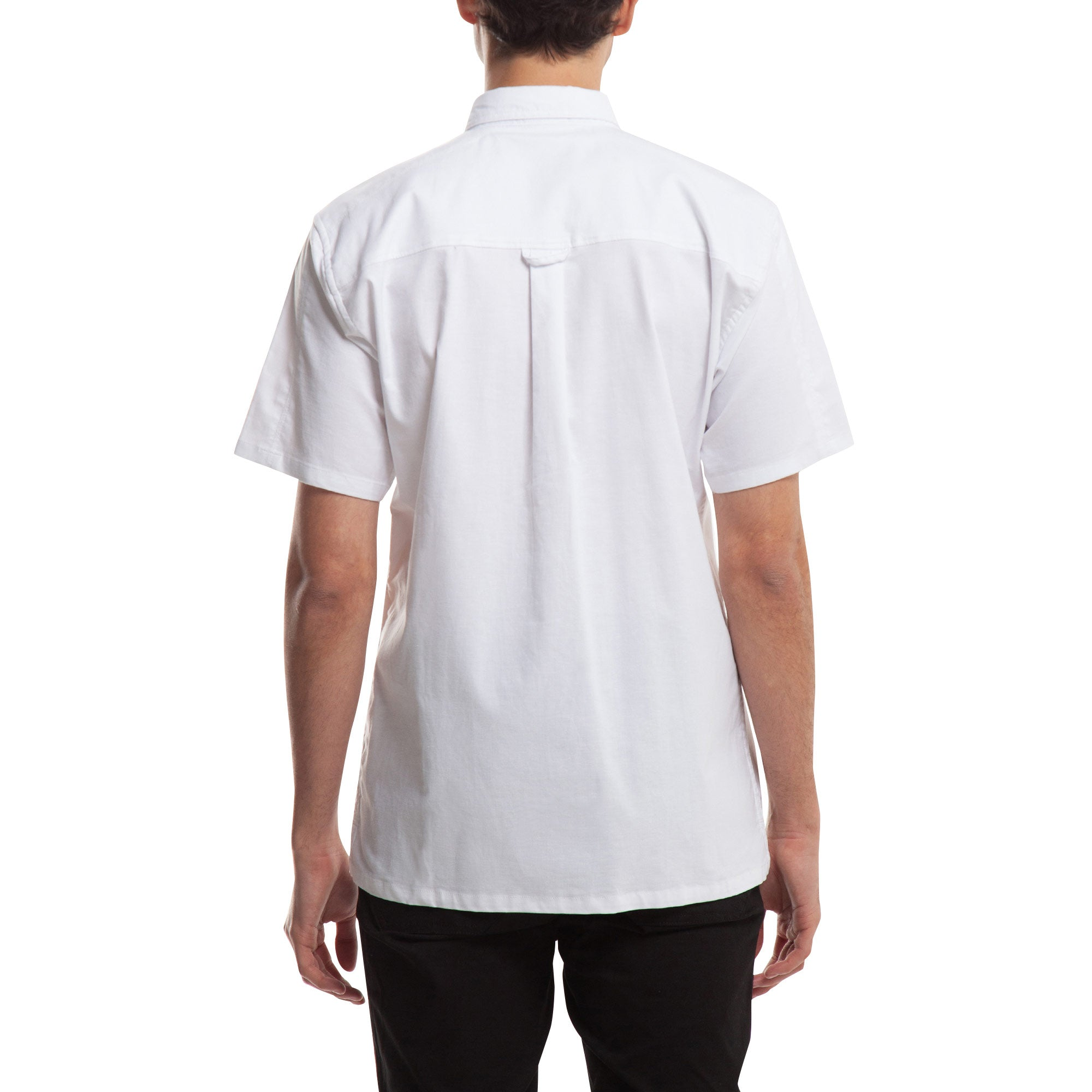 Index S/S Button Up - White