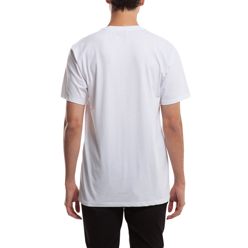 Index S/S Pocket Basic - White