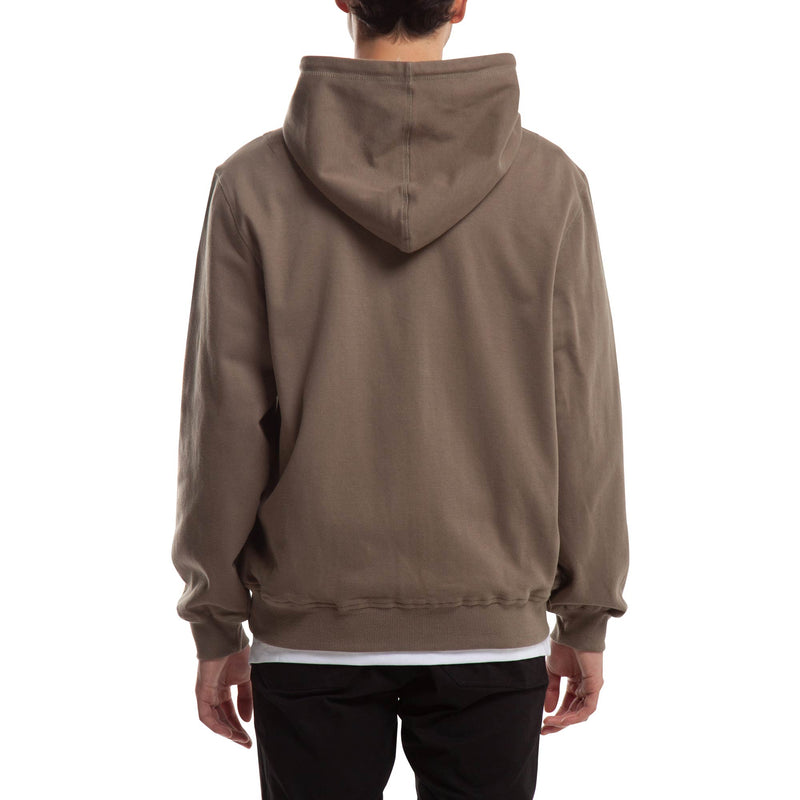 Index Zip Fleece Hoodie - Olive