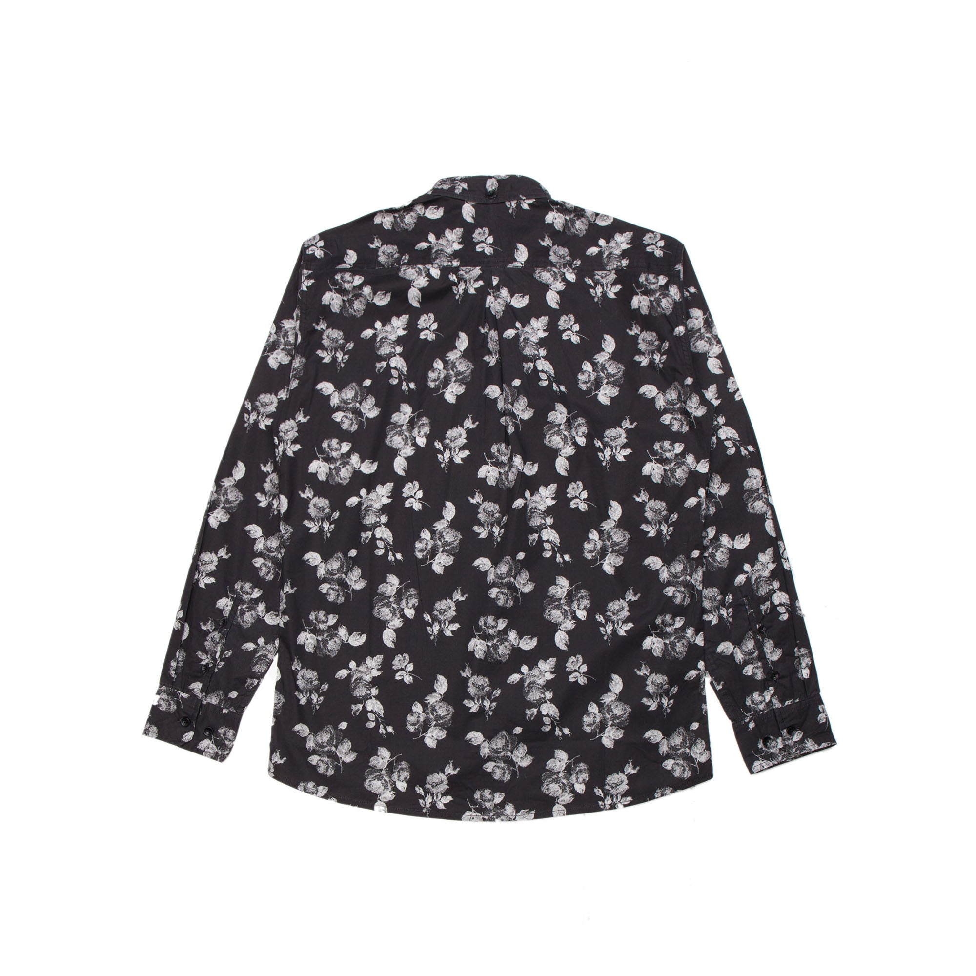 Isaias Button - Up - Black