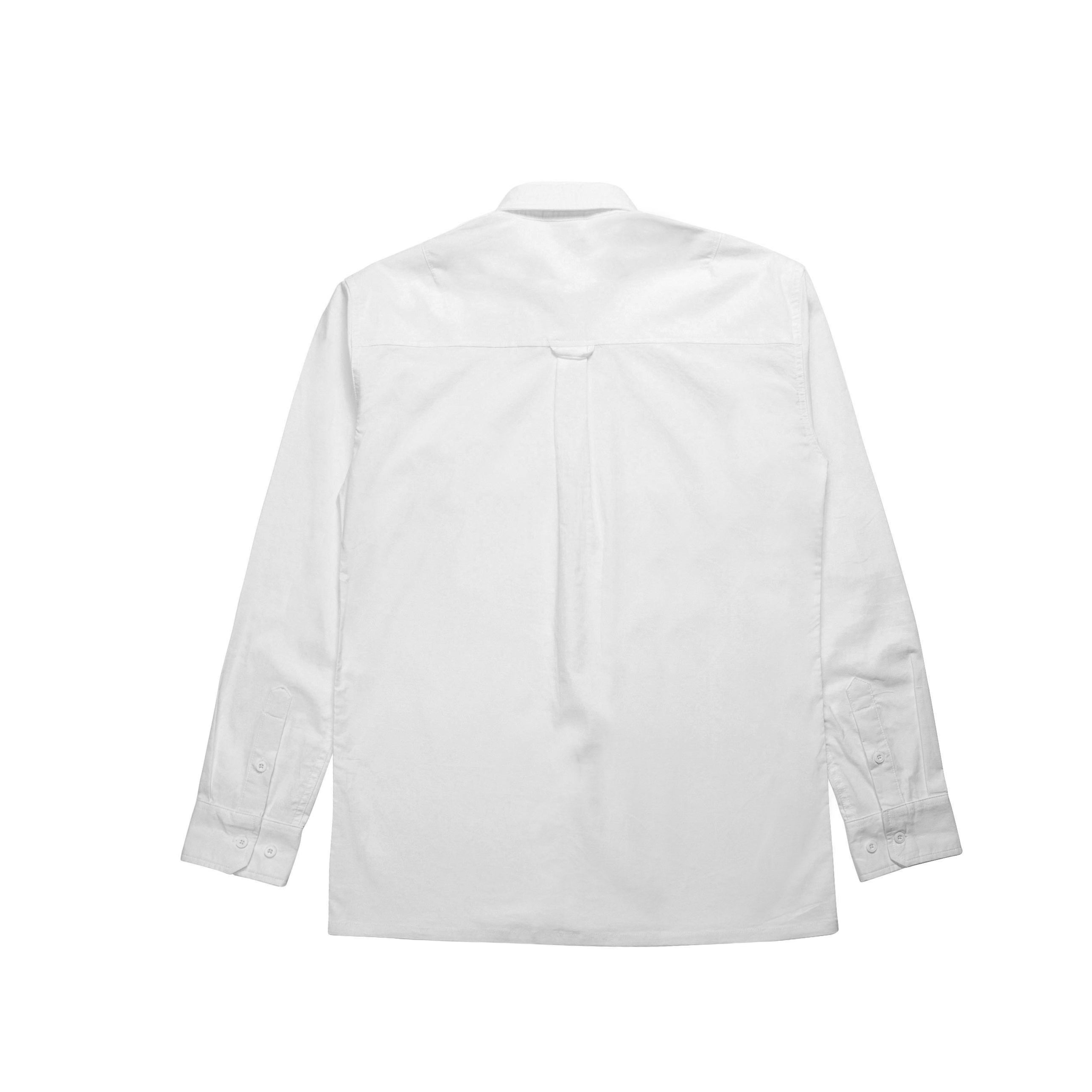 Index L/S Button Up - White
