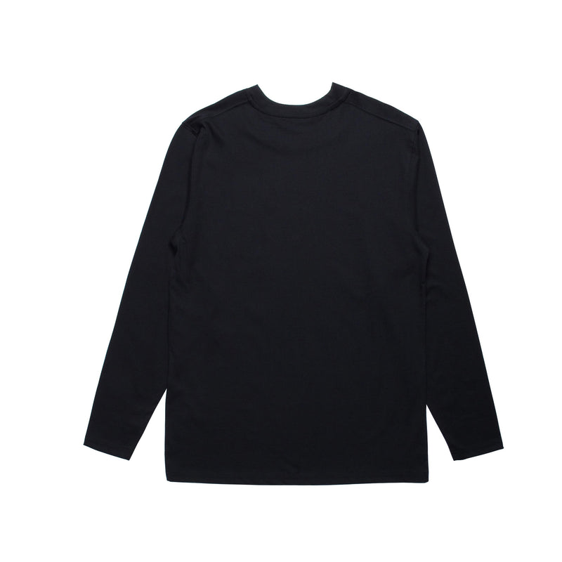 Index L/S Pocket Basic - Black