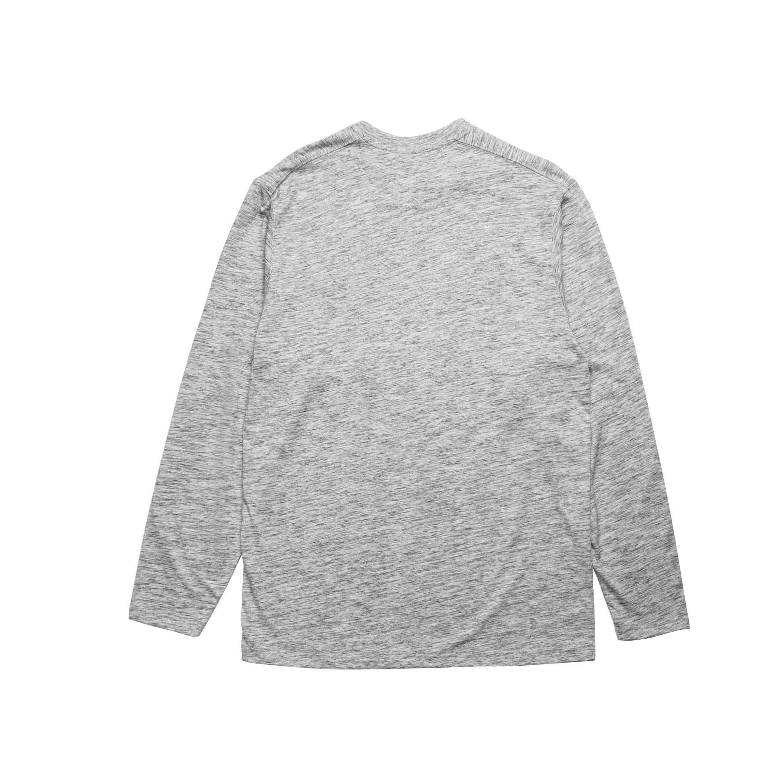Index L/S Pocket Basic - Heather