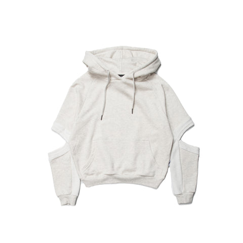 Lucia - Hooded Sweater - Ash Heather