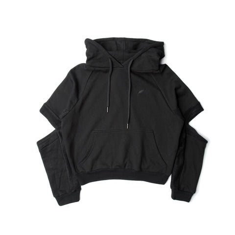Lucia - Hooded Sweater - Black