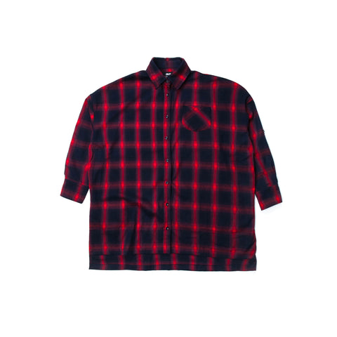 Lynda - Button Up - Red