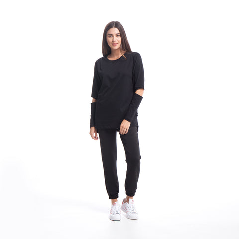 Maybel - Knit - Black