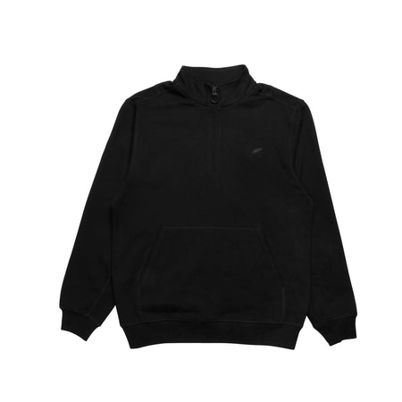 Index Mock Zip Fleece - Black