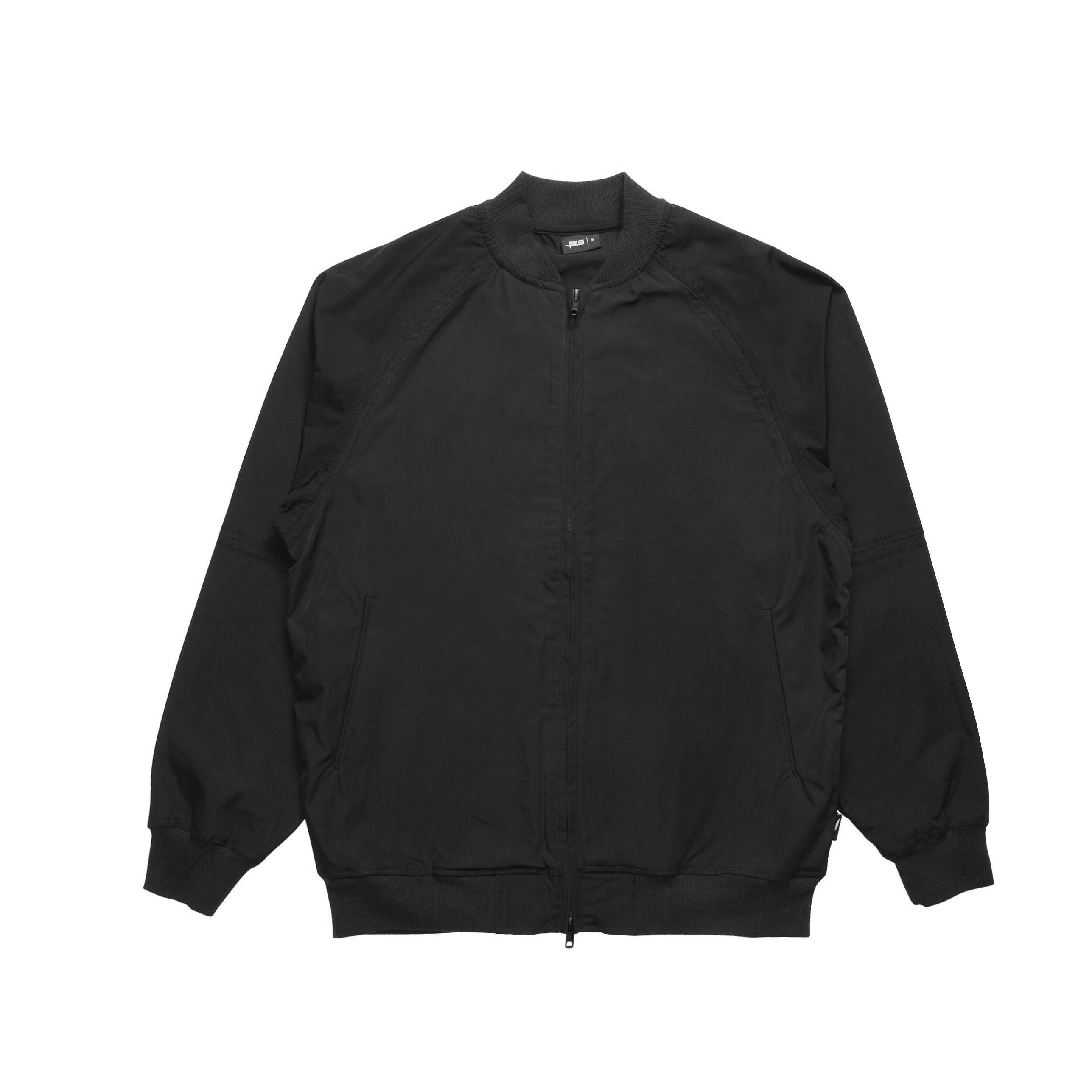 Index Nylon Bomber - Black