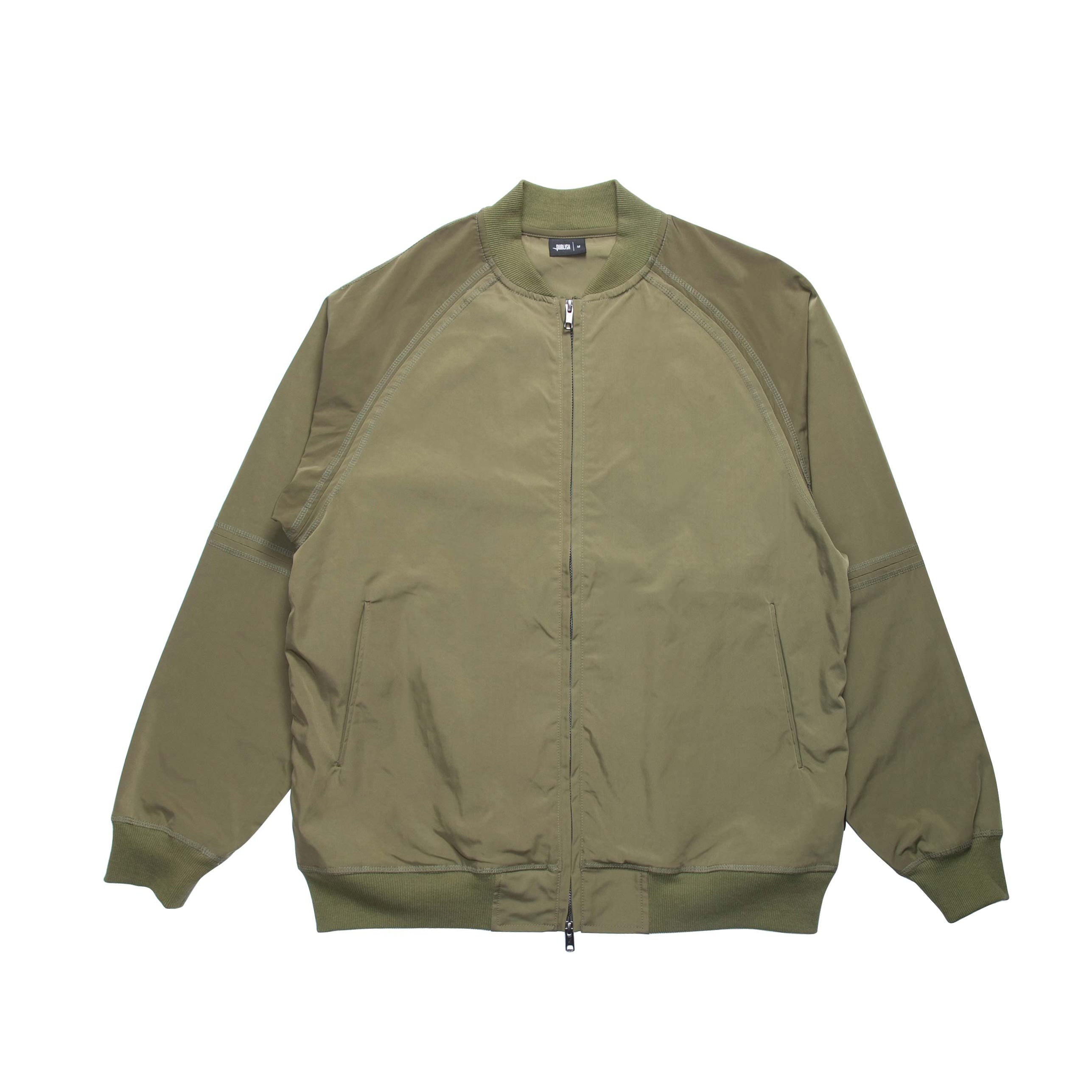 Index Nylon Bomber - Olive