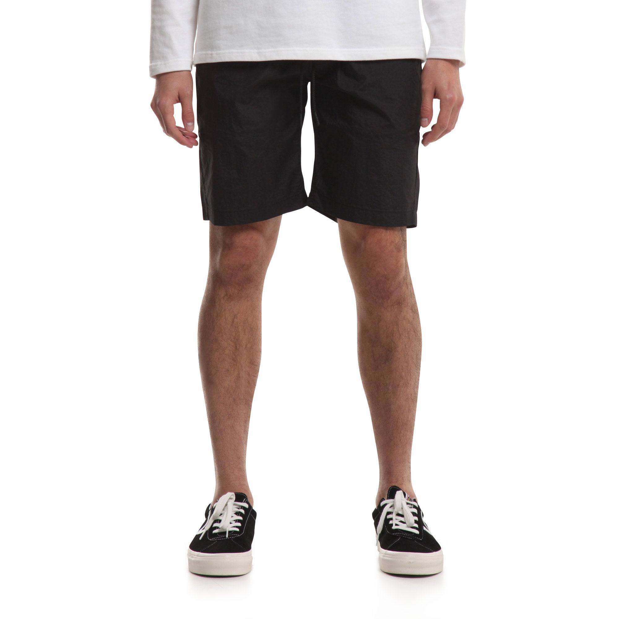 Nylon Sprinter Short - Black