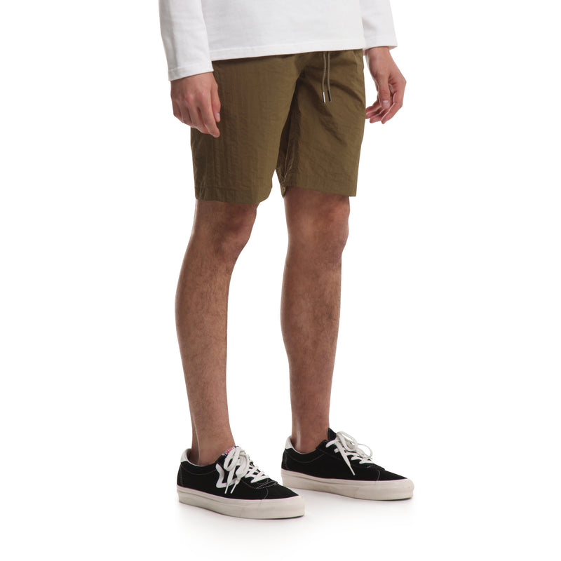 Nylon Sprinter Short - Olive