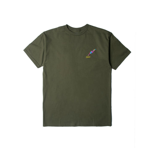 Painted Quill - Olive