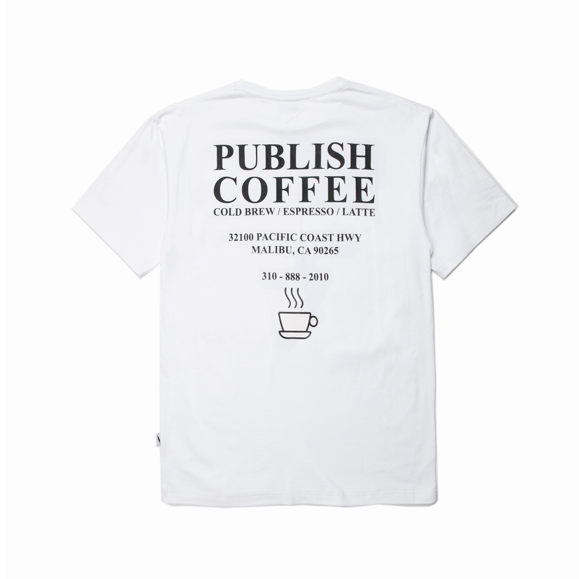 Publish Coffee - White