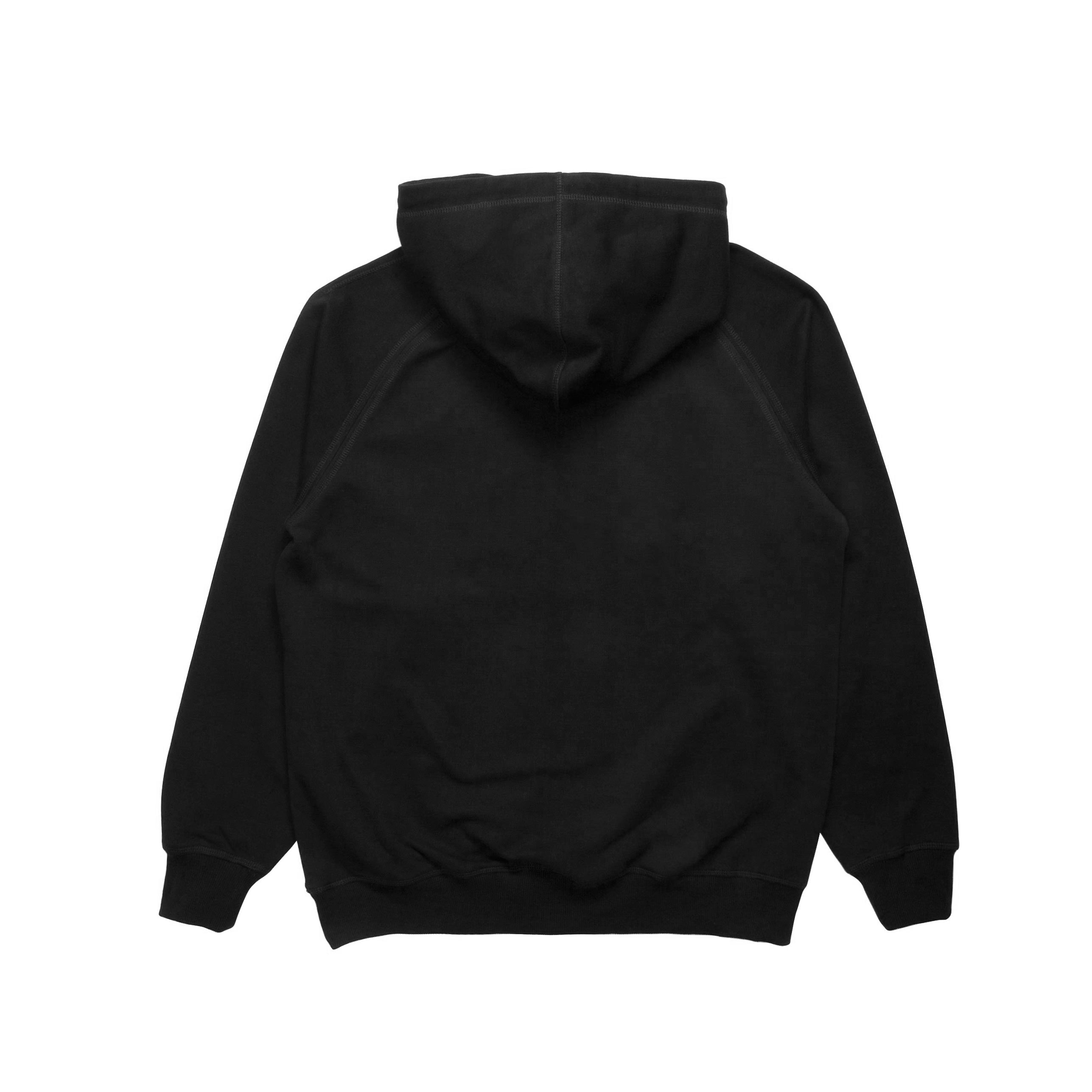 Index Raglan Fleece Hoodie - Black