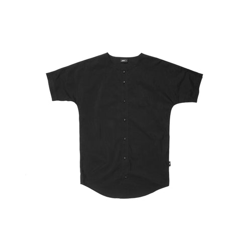 Rhyss Button Up - Black