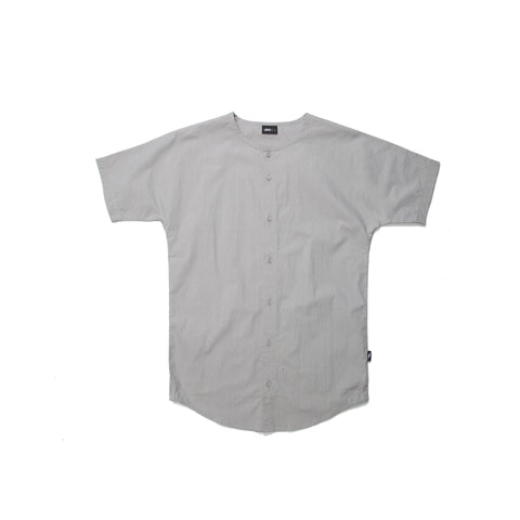 Rhyss Button Up - Grey