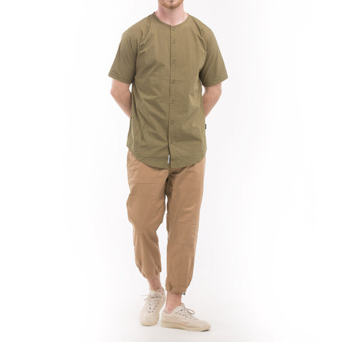 Rhyss Button Up - Olive