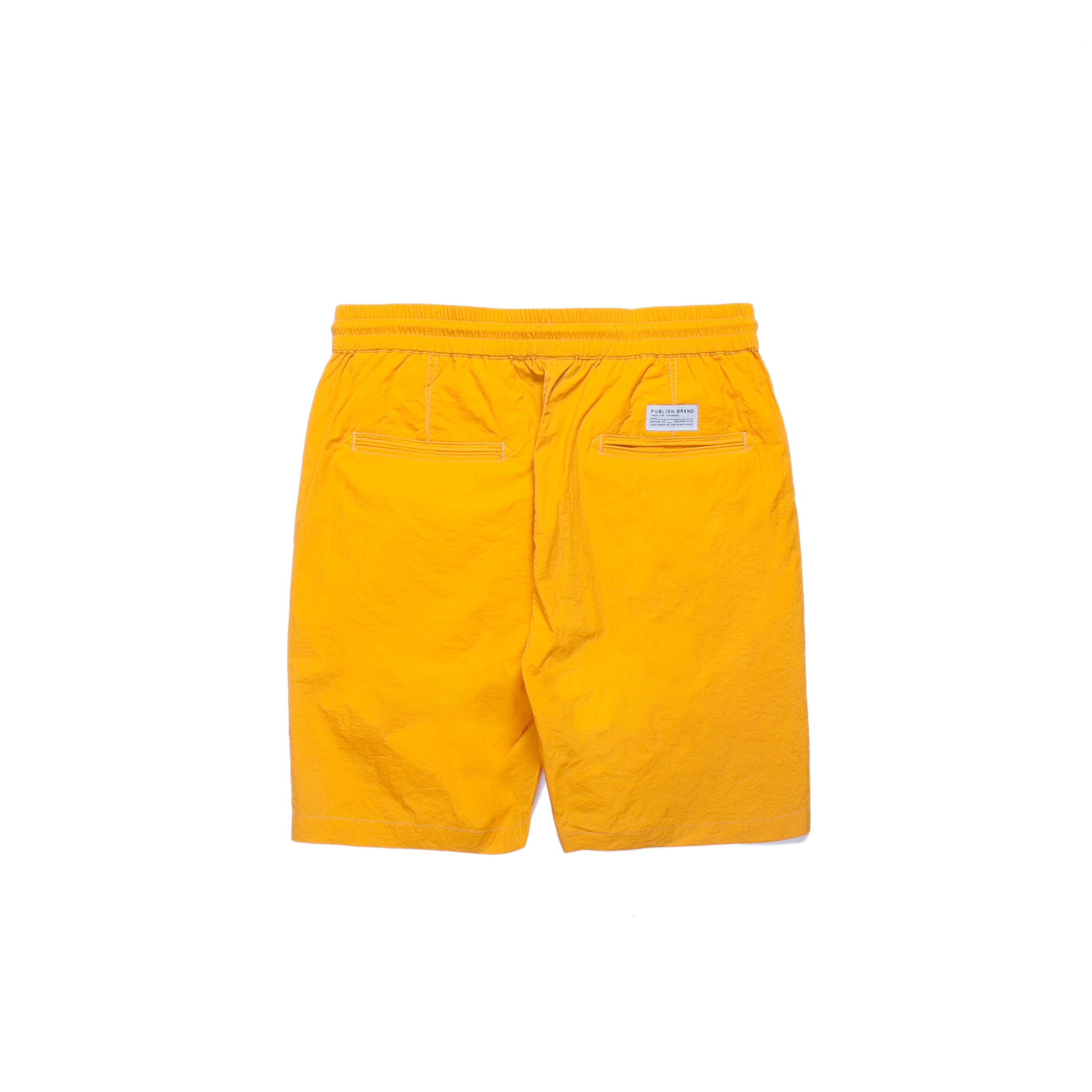 Nylon Sprinter Short - Gold