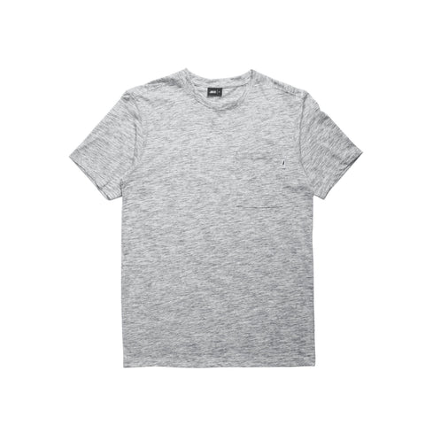 Index S/S Pocket Basic - Heather