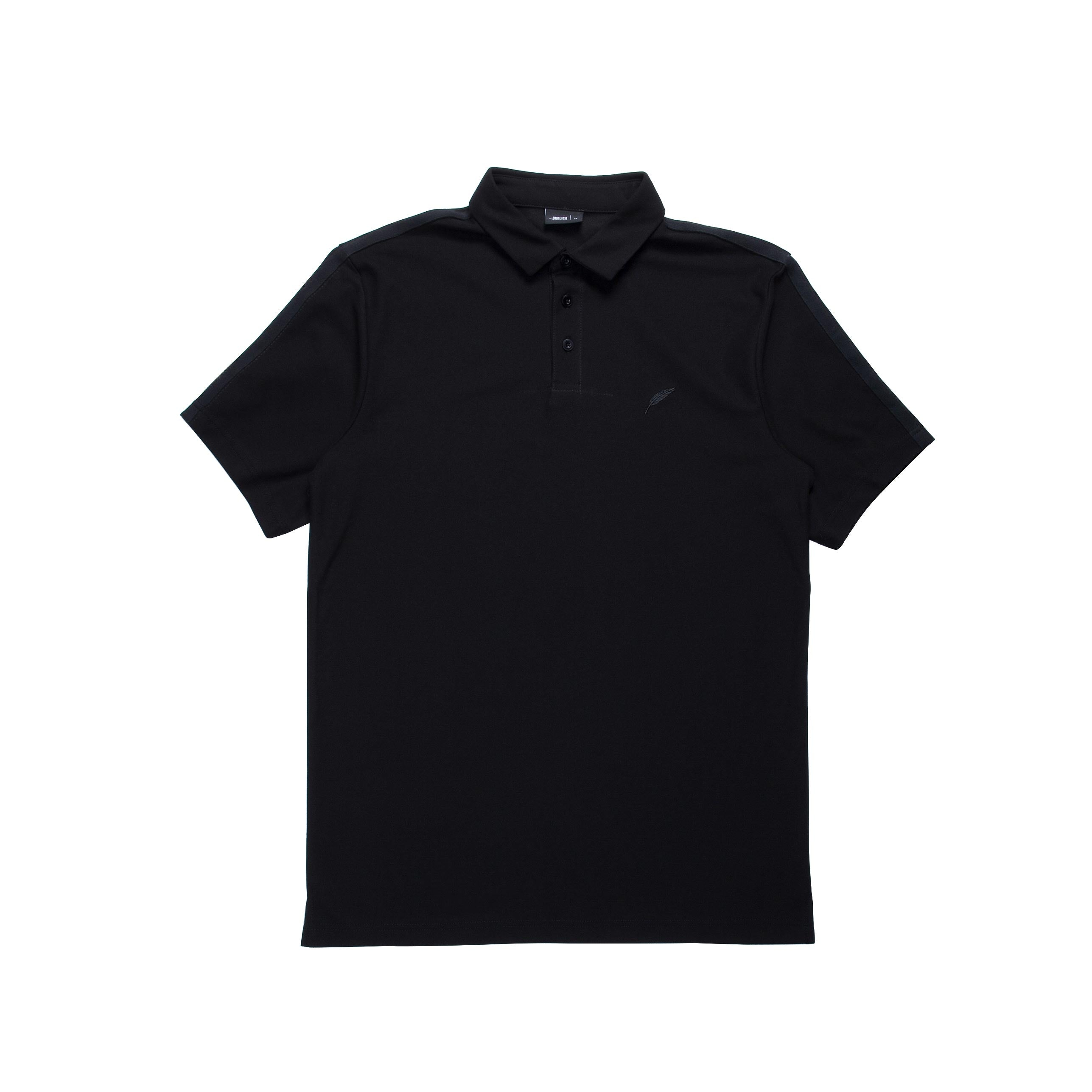 Index S/S Polo - Black