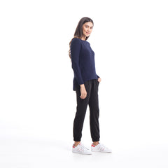 Stella - Sweater - Navy