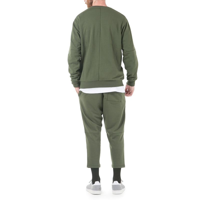 Index Terry Crewneck - Olive